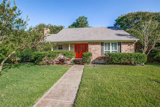 1308 Cheyenne Drive, Richardson, TX 75080 (MLS #14212113) :: The Kimberly Davis Group