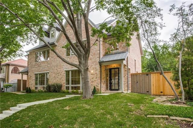 4551 Fairway Avenue, Highland Park, TX 75219 (MLS #14212118) :: Baldree Home Team