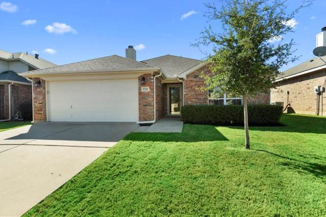 3732 Hazel Drive, Fort Worth, TX 76244 (MLS #14212328) :: Dwell Residential Realty