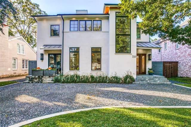 3511 Rankin Street, University Park, TX 75205 (MLS #14212355) :: Baldree Home Team