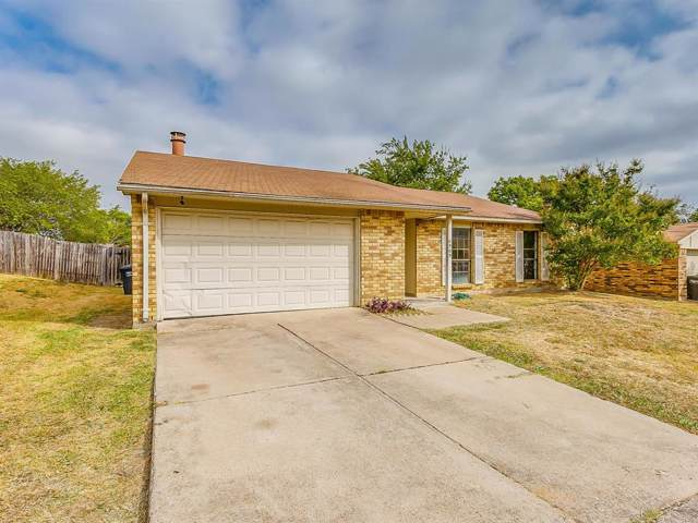 6909 Misty Glen Court, Fort Worth, TX 76120 (MLS #14212456) :: SubZero Realty