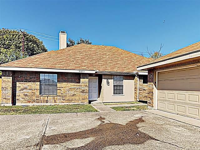 2021 Sancerre Lane, Carrollton, TX 75007 (MLS #14212501) :: Baldree Home Team