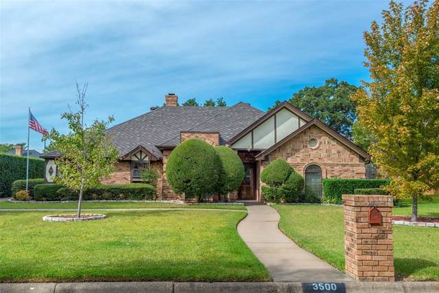 3500 Cliffwood Drive, Colleyville, TX 76034 (MLS #14212575) :: RE/MAX Town & Country