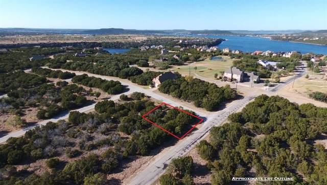 Lot 94 Melbourne Trail, Possum Kingdom Lake, TX 76449 (MLS #14212662) :: Baldree Home Team