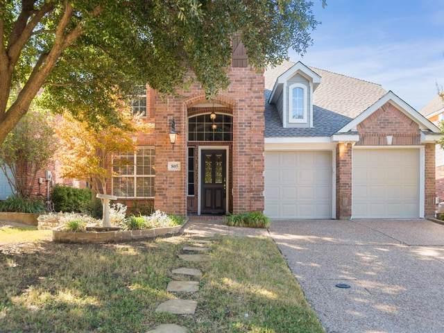 805 Brookwater Drive, Mckinney, TX 75071 (MLS #14212731) :: Baldree Home Team