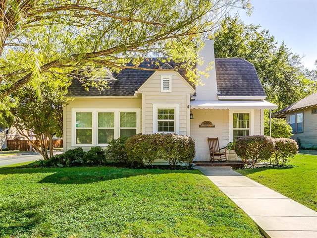4601 Collinwood Avenue, Fort Worth, TX 76107 (MLS #14212799) :: RE/MAX Town & Country
