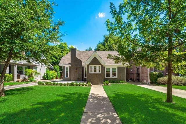 5238 Ridgedale Avenue, Dallas, TX 75206 (MLS #14213197) :: Baldree Home Team