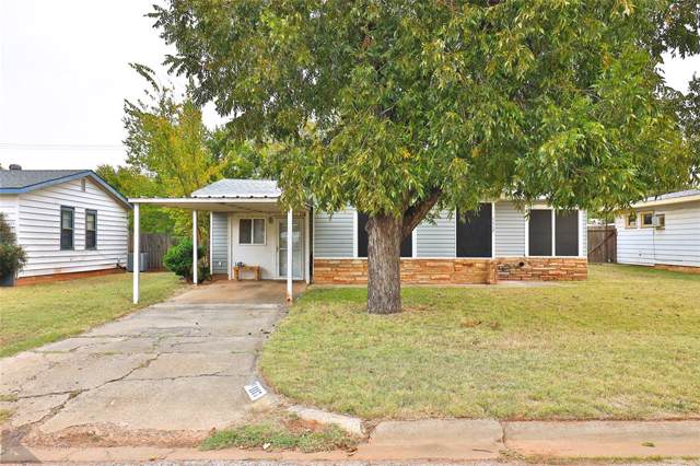 1117 S Bowie Drive, Abilene, TX 79605 (MLS #14213254) :: Robbins Real Estate Group