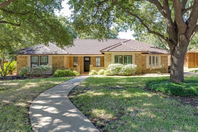 3906 Butler Court, Colleyville, TX 76034 (MLS #14213475) :: RE/MAX Town & Country