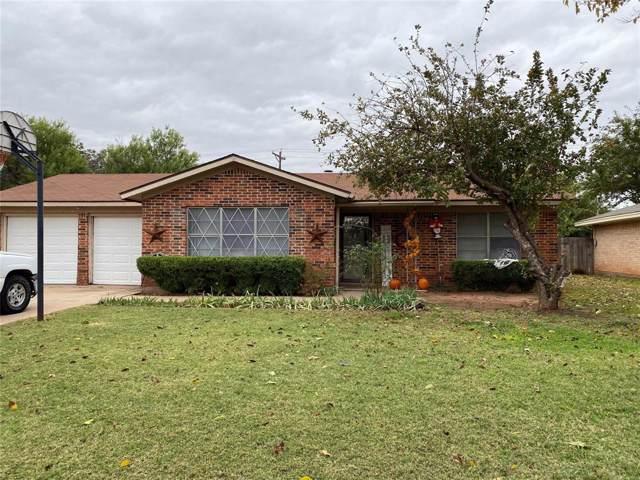 3233 Nonesuch Road, Abilene, TX 79606 (MLS #14213479) :: The Chad Smith Team