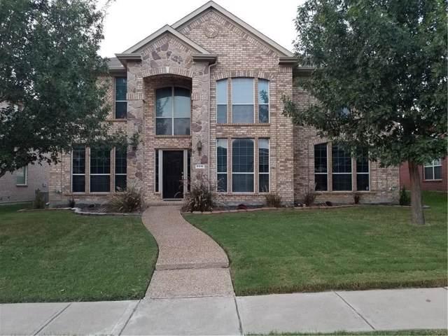 9916 Bradford Grove Drive, Frisco, TX 75035 (MLS #14213546) :: Team Tiller