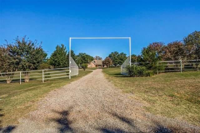 151 Bones Chapel Road, Whitesboro, TX 76273 (MLS #14213720) :: Trinity Premier Properties