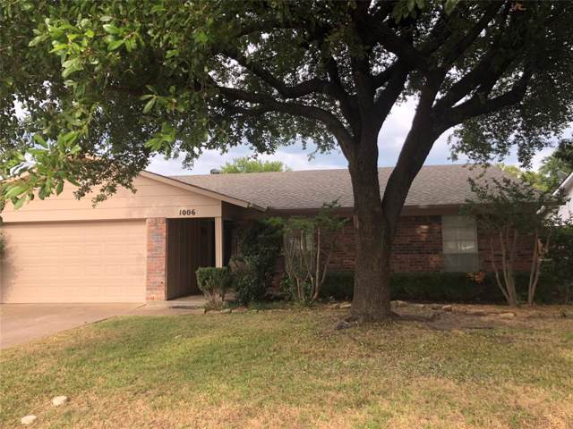 1006 Candlewood Drive, Allen, TX 75002 (MLS #14213944) :: Lynn Wilson with Keller Williams DFW/Southlake