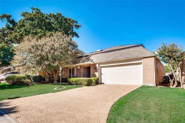 20 Crown Place, Richardson, TX 75080 (MLS #14214154) :: RE/MAX Town & Country