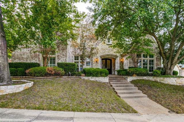 6604 Trail Bluff Drive, Plano, TX 75024 (MLS #14214374) :: The Kimberly Davis Group
