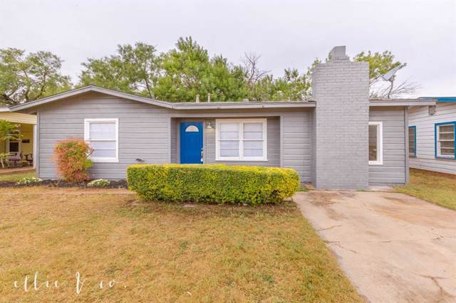 1102 Briarwood Street, Abilene, TX 79603 (MLS #14214585) :: RE/MAX Town & Country