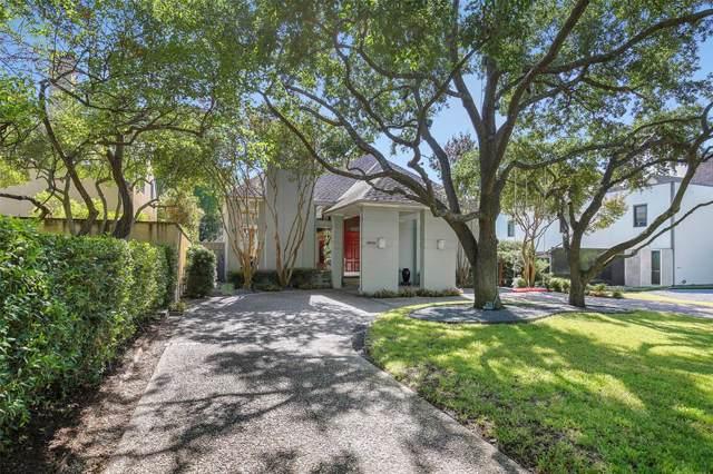 3805 Mockingbird Lane, Highland Park, TX 75205 (MLS #14214678) :: RE/MAX Town & Country