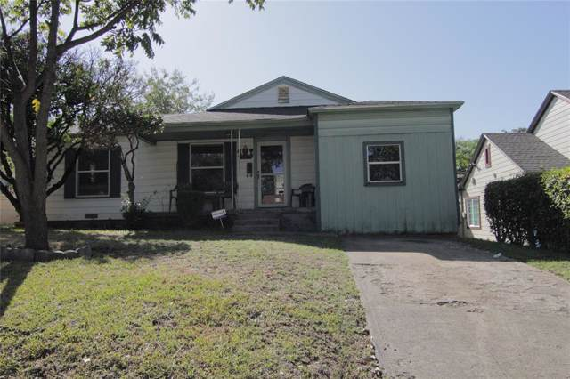2830 Ivandell Avenue, Dallas, TX 75211 (MLS #14214724) :: RE/MAX Town & Country