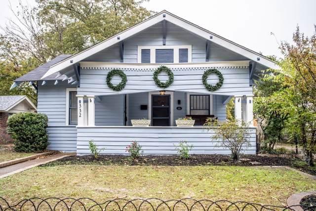 332 S Rosemont Avenue, Dallas, TX 75208 (MLS #14214775) :: Van Poole Properties Group