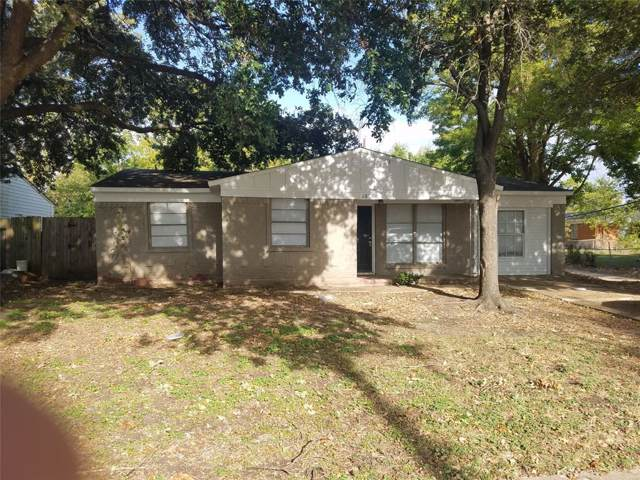 2805 Maple Drive, Mesquite, TX 75150 (MLS #14214800) :: NewHomePrograms.com LLC