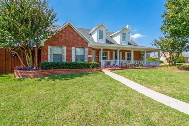 8213 Pacific Street, Frisco, TX 75035 (MLS #14214846) :: RE/MAX Town & Country