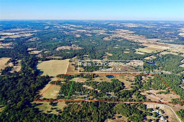 Tract 1 County Road 1790, Sunset, TX 76270 (MLS #14214964) :: RE/MAX Town & Country