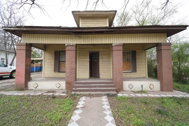311 N Walnut Street, Cleburne, TX 76033 (MLS #14215051) :: The Rhodes Team