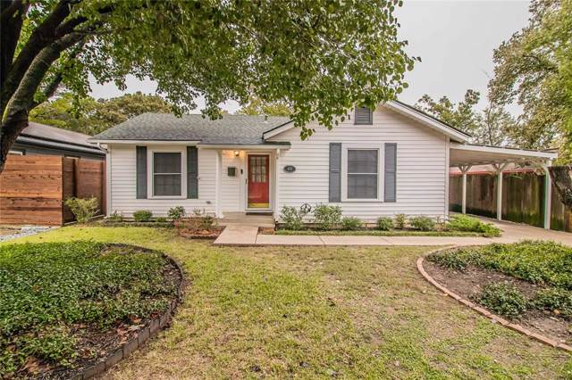 411 Sunset Drive, Cleburne, TX 76033 (MLS #14215521) :: Hargrove Realty Group