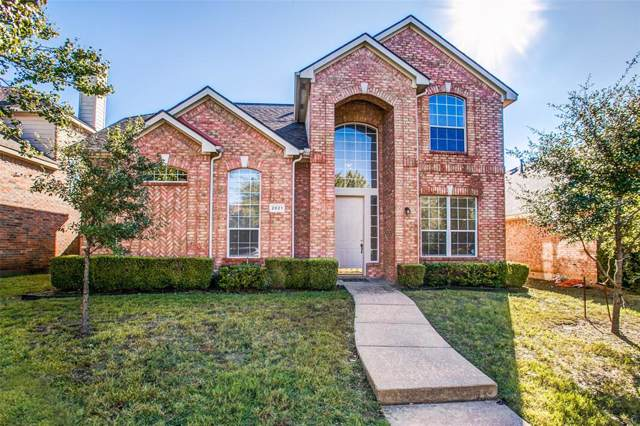 2021 Westbury Lane, Allen, TX 75013 (MLS #14215544) :: Vibrant Real Estate