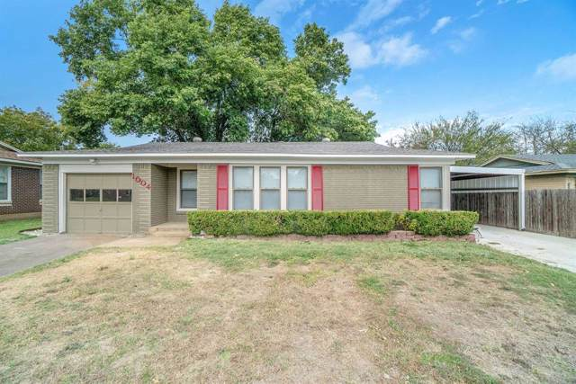 1004 Marengo Street, Cleburne, TX 76033 (MLS #14215666) :: Ann Carr Real Estate