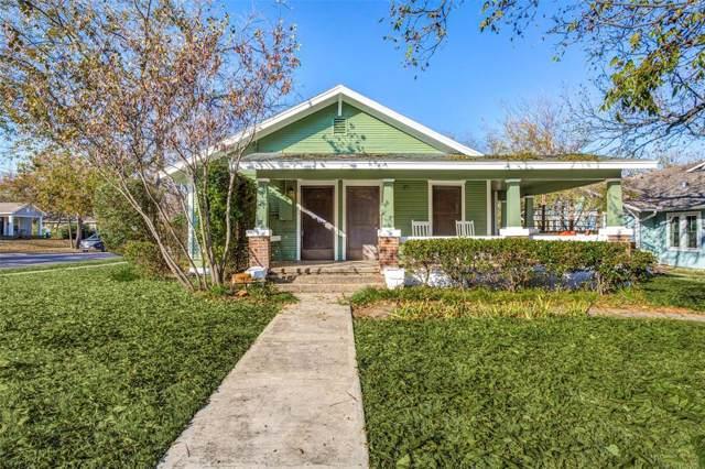 918 Anderson Street, Denton, TX 76201 (MLS #14215865) :: The Mauelshagen Group