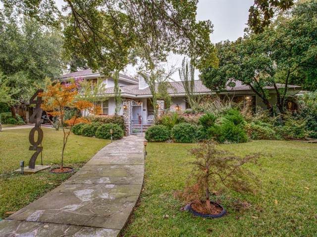 4407 Enfield Drive, Dallas, TX 75220 (MLS #14215989) :: RE/MAX Town & Country
