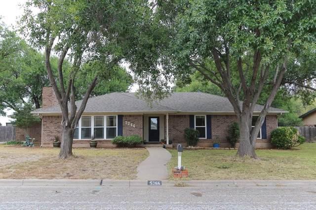 5266 Deerwood Lane, Abilene, TX 79606 (MLS #14216001) :: The Chad Smith Team
