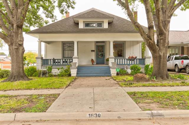 1830 Hurley Avenue, Fort Worth, TX 76110 (MLS #14216142) :: RE/MAX Town & Country