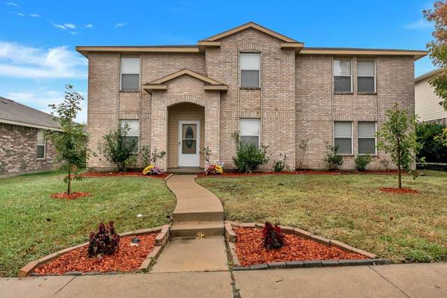 1419 Starpoint Lane, Wylie, TX 75098 (MLS #14216338) :: RE/MAX Town & Country