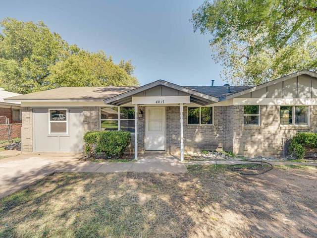 4817 Melinda Drive, Forest Hill, TX 76119 (MLS #14216360) :: RE/MAX Town & Country