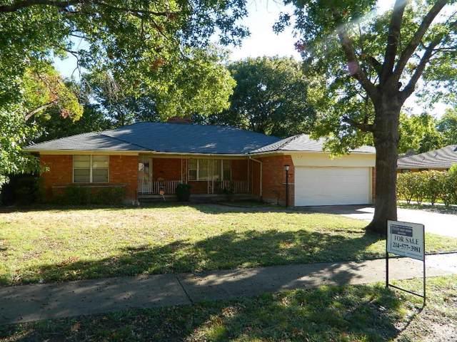 1612 Nokomis Avenue, Dallas, TX 75224 (MLS #14216386) :: RE/MAX Town & Country