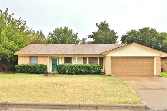 3533 Honeysuckle Court, Abilene, TX 79606 (MLS #14216473) :: The Chad Smith Team