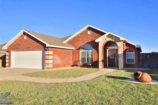 350 Lollipop Trail, Abilene, TX 79602 (MLS #14216557) :: The Chad Smith Team