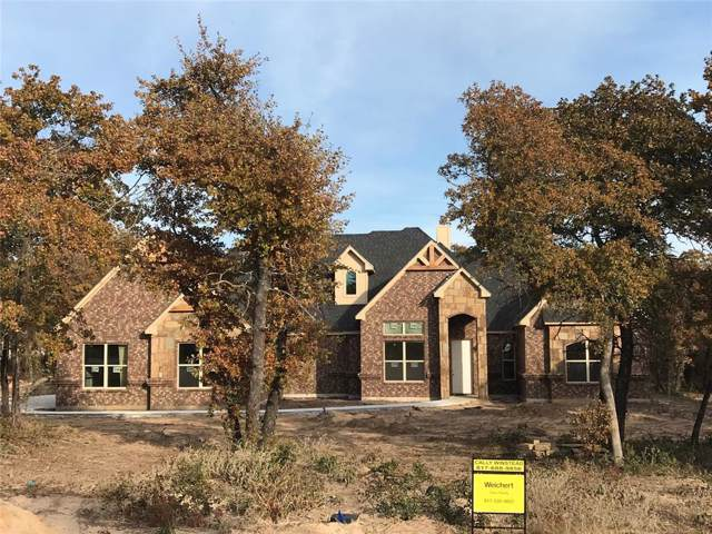 320 Timbers Circle, Poolville, TX 76487 (MLS #14216675) :: The Heyl Group at Keller Williams