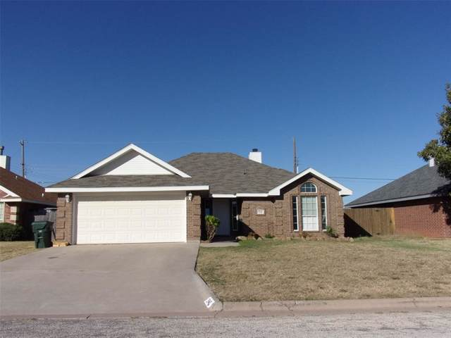3942 Notre Dame Circle, Abilene, TX 79602 (MLS #14216764) :: The Chad Smith Team