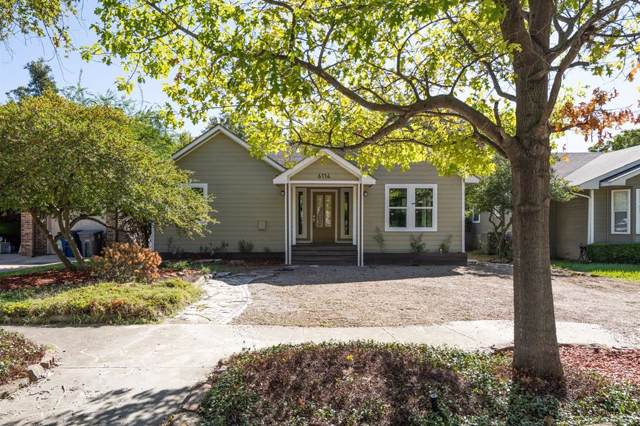 6114 Palo Pinto Avenue, Dallas, TX 75214 (MLS #14216849) :: Robbins Real Estate Group