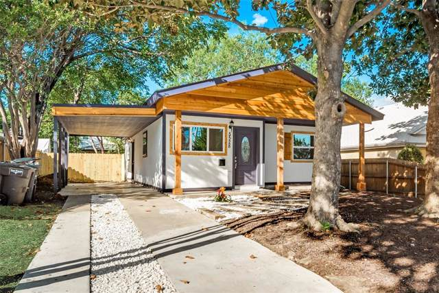 5528 Birchman Avenue, Fort Worth, TX 76107 (MLS #14216862) :: RE/MAX Town & Country