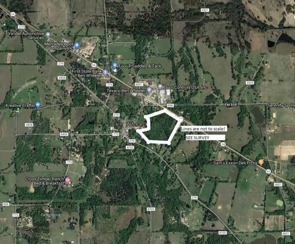 TBD Hwy 64, Ben Wheeler, TX 75754 (MLS #14216937) :: Real Estate By Design