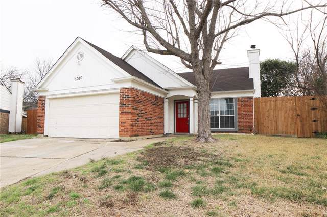 1010 Ashmount Lane, Arlington, TX 76017 (MLS #14216951) :: The Tierny Jordan Network