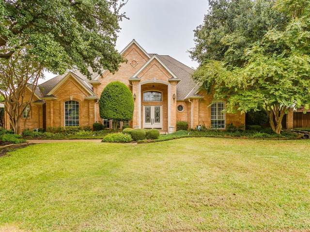7205 Belle Meade Drive, Colleyville, TX 76034 (MLS #14216979) :: All Cities Realty