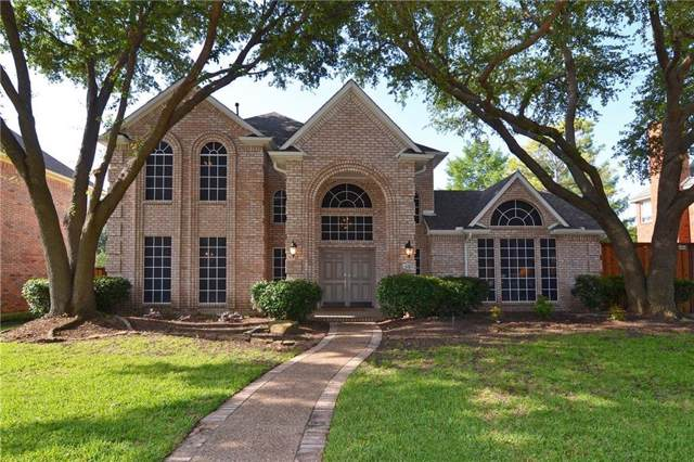 644 Post Oak Drive, Plano, TX 75025 (MLS #14217277) :: RE/MAX Town & Country