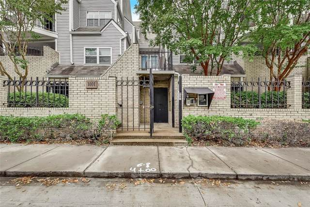 1001 Liberty Street #122, Dallas, TX 75204 (MLS #14217324) :: Vibrant Real Estate