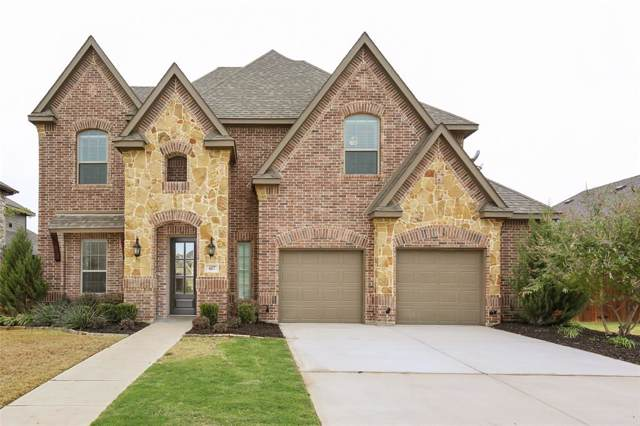 417 Panchasarp Drive, Crowley, TX 76036 (MLS #14217342) :: Potts Realty Group
