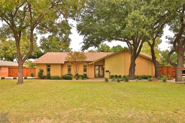 2027 Brookhollow Drive, Abilene, TX 79605 (MLS #14217415) :: RE/MAX Town & Country